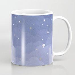 Blue Sky with Stars Coffee Mug
