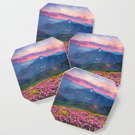 Blooming mountains Coaster