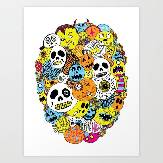 Halloween Print Art Print