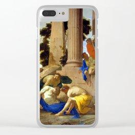 Andrea di Leone Tobit Burying the Dead Clear iPhone Case