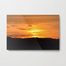 Southwest Sunrise - II Metal Print