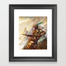 Dragoon legend  Framed Art Print