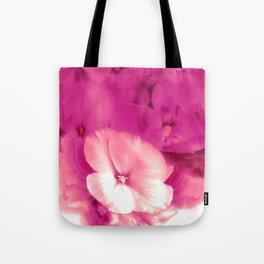 Blushing Wallflower Tote Bag
