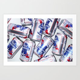 Pabst Blue Ribbon Art Print