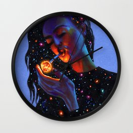Ask the Universe Wall Clock