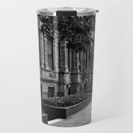 Brownstones of the Upper West Side Travel Mug