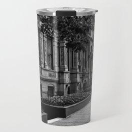 Brownstones of the Upper West Side Travel Mug
