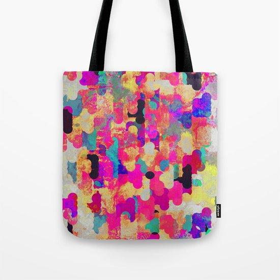 Neon Tambourine Tote Bag