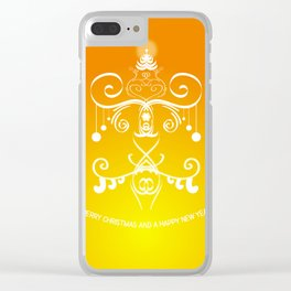 Christmas decorations 3 Clear iPhone Case
