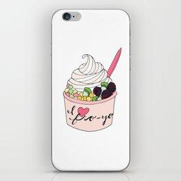 I Heart Fro-Yo iPhone Skin