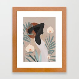 Tropical Girl 4 Framed Art Print
