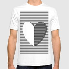 Love can make you dizzy Mens Fitted Tee SMALL White