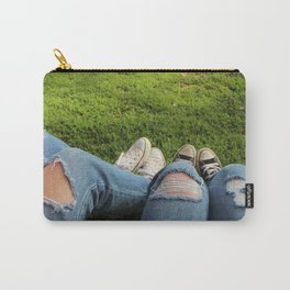 Jeans And Converse Carry-All Pouch