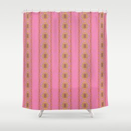 Silicon-based life form - 3BB pink Shower Curtain