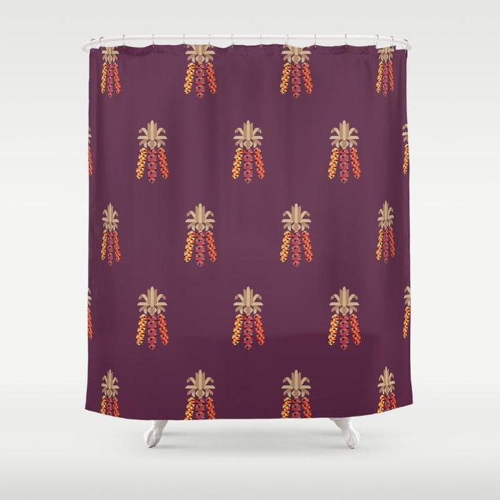 Indian Corn Shower Curtain By Christopherdina