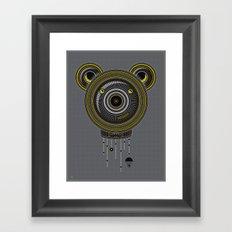 Peace, Love, Panda Framed Art Print