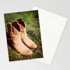 Country Boots Stationery Cards