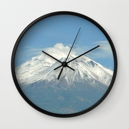 MOUNT SHASTA Wall Clock
