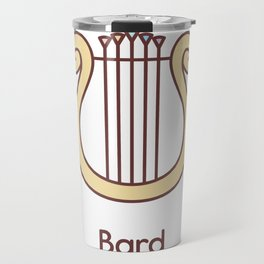 Cute Dungeons and Dragons Bard class Travel Mug