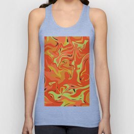 Papaya Juice Unisex Tank Top
