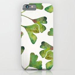 Ginkgo Biloba – Green iPhone Case