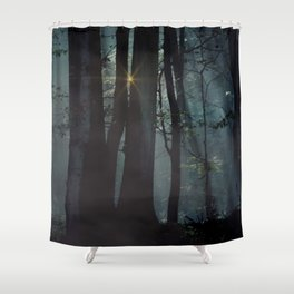 Who ever saw the wind? Shower Curtain