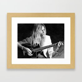 Music soul Framed Art Print