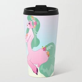 Pretty Little Pink Centaur Travel Mug
