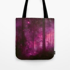 Into the purpur light Tote Bag
