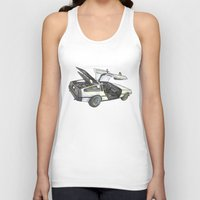 delorean Tank Tops featuring DMC - Delorean by dareba