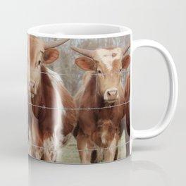 Curious Calves Farm Style Photography Coffee Mug