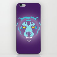 fierce iPhone & iPod Skins featuring Fierce by MaNia Creations