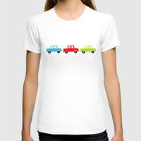 cars T-shirts featuring cars by laura mendoza v.