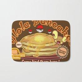 Alola Pancakes Bath Mat
