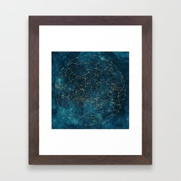 Under Constellations Framed Art Print