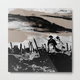 Fields of war Metal Print