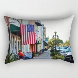 Historic Front Street Rectangular Pillow
