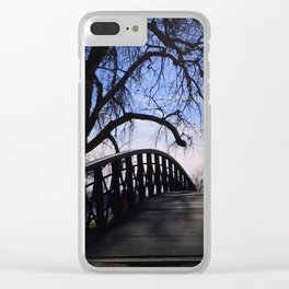 Bridge To Elsewhere Clear iPhone Case