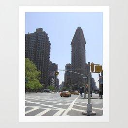 Flatiron Building New York Art Print