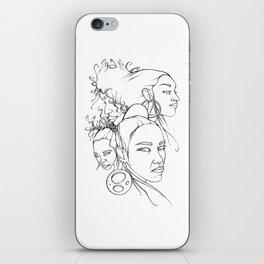 Black Roses iPhone Skin