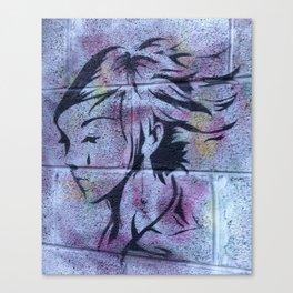 Dublin Girl Canvas Print