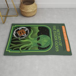Cthulhu Your Own Adventure Rug