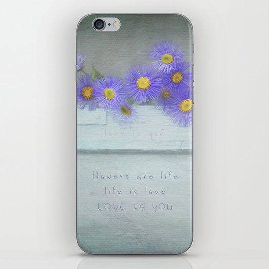 Love is You iPhone & iPod Skin