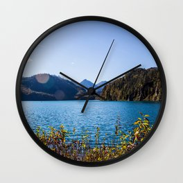 Alpsee lake Wall Clock