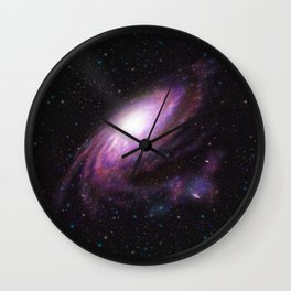 Rosea Galaxy Wall Clock