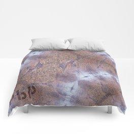 Berlin Kaiser Wilhelm // Pattern Abstract Photography Comforters