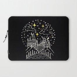 Hogwarts Castle Illustration Laptop Sleeve