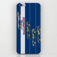 subaru iPhone & iPod Skins featuring Colin McRae, The Subaru Years by Ricardo Santos