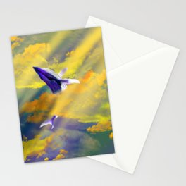 It's a Whale of a Time Stationery Cards
