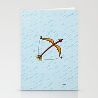 sagittarius Stationery Cards featuring Sagittarius by Giuseppe Lentini